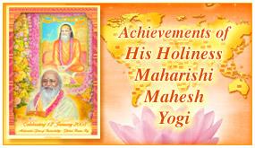 Maharishi's Achievements