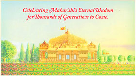 Celebrating Maharishi